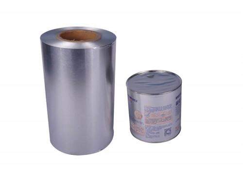 Aluminum membrane foils for metal can