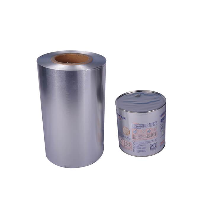easy peel lid foil for milk powder can