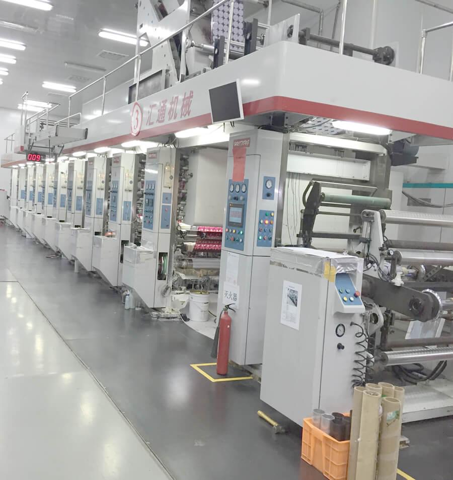 High-Speed-Gravure-Printing-Machine