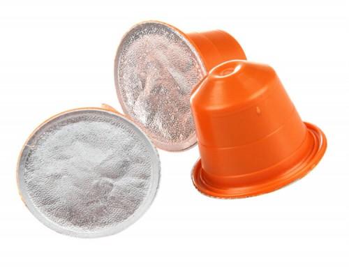 Coffee capsule foil lids